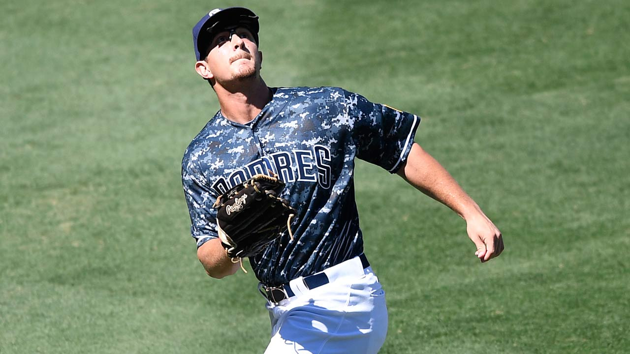 Padres have depth, talent in left field