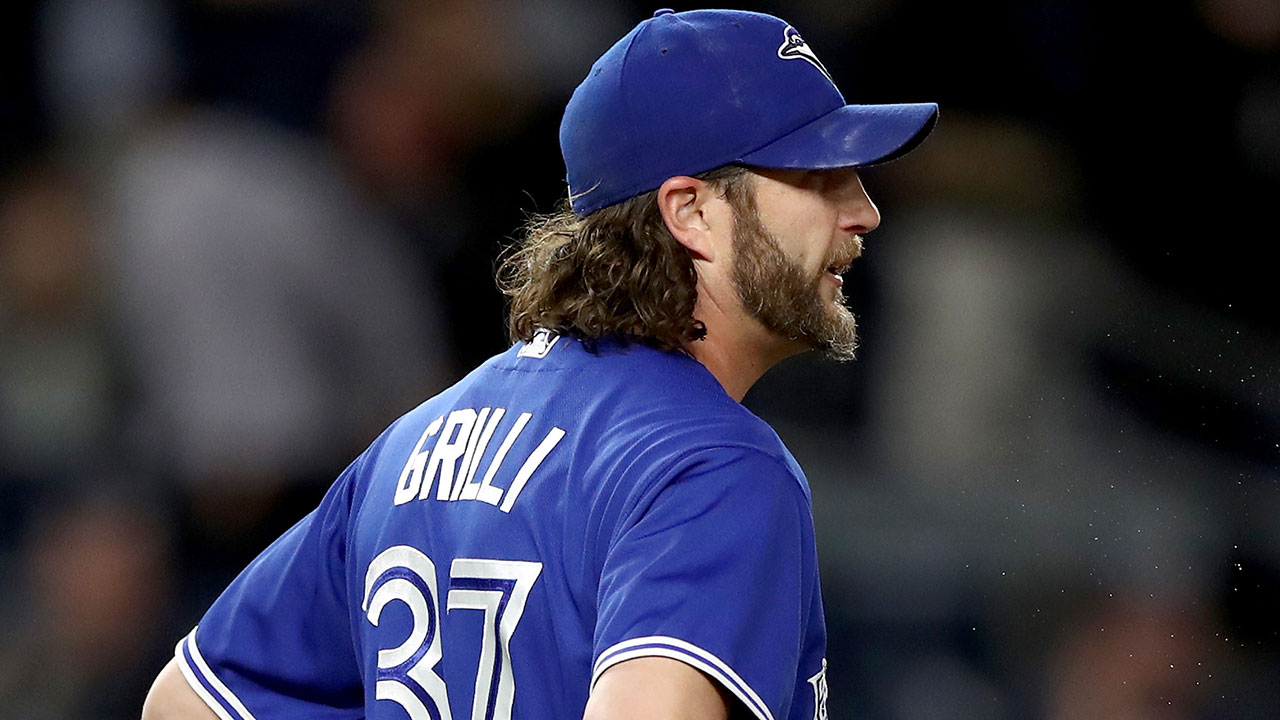 Rangers acquire Grilli from Blue Jays