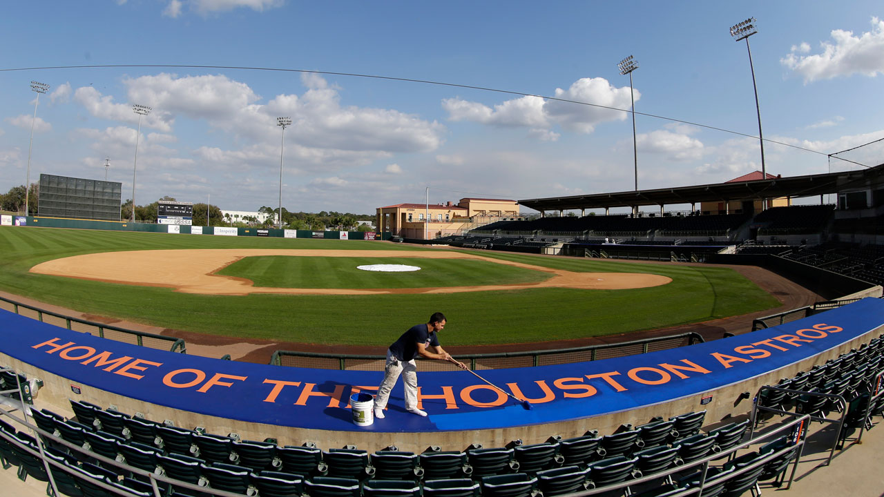 Astros still negotiating for proposed spring facility