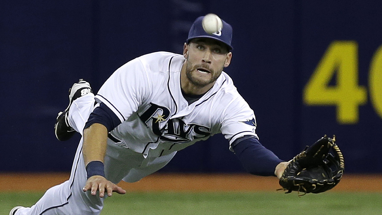 Rays outfielder Kevin Kiermaier lays out for run-saving ...