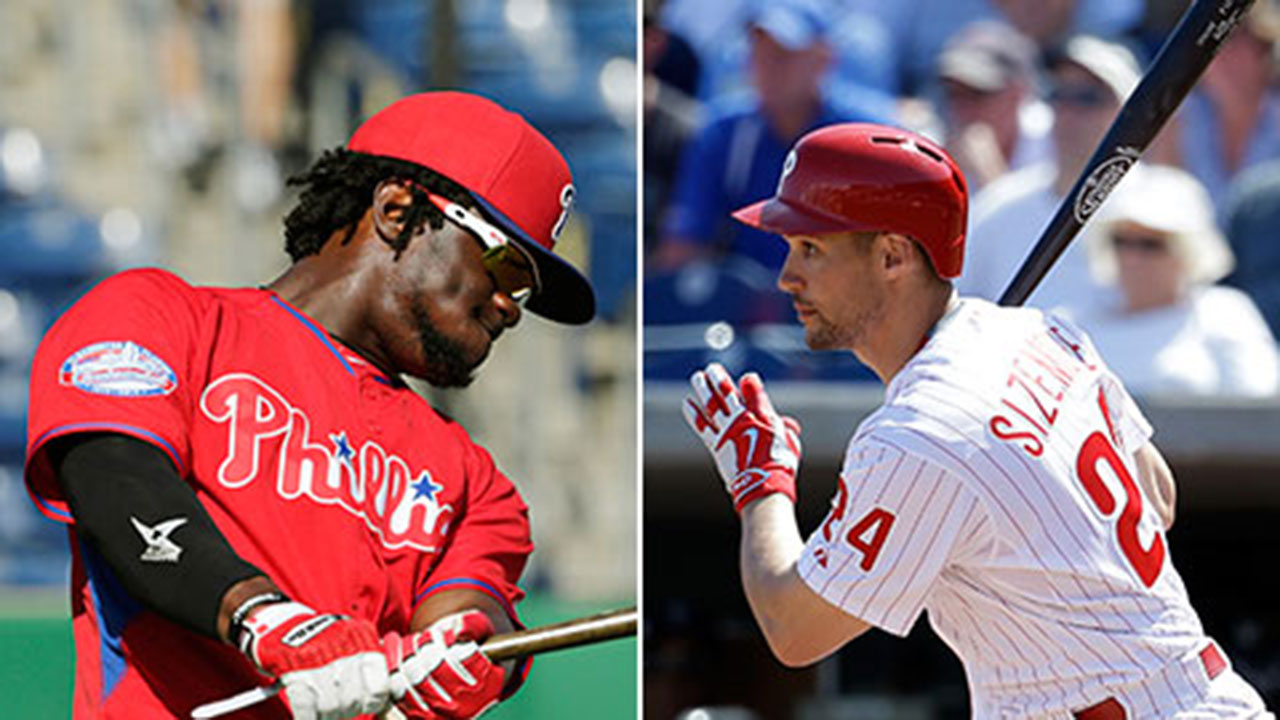 Herrera, Sizemore spark Phillies offense in loss