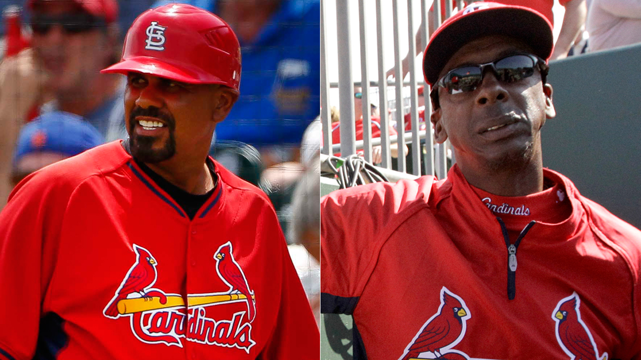 Oquendo, McGee to join St. Louis Cardinals coaching staff