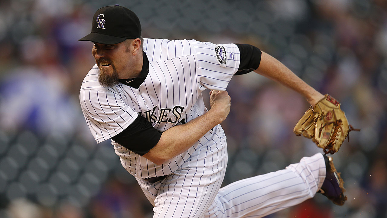 chad qualls to resume throwing for rockies mlb com qualls to resume throwing on monday