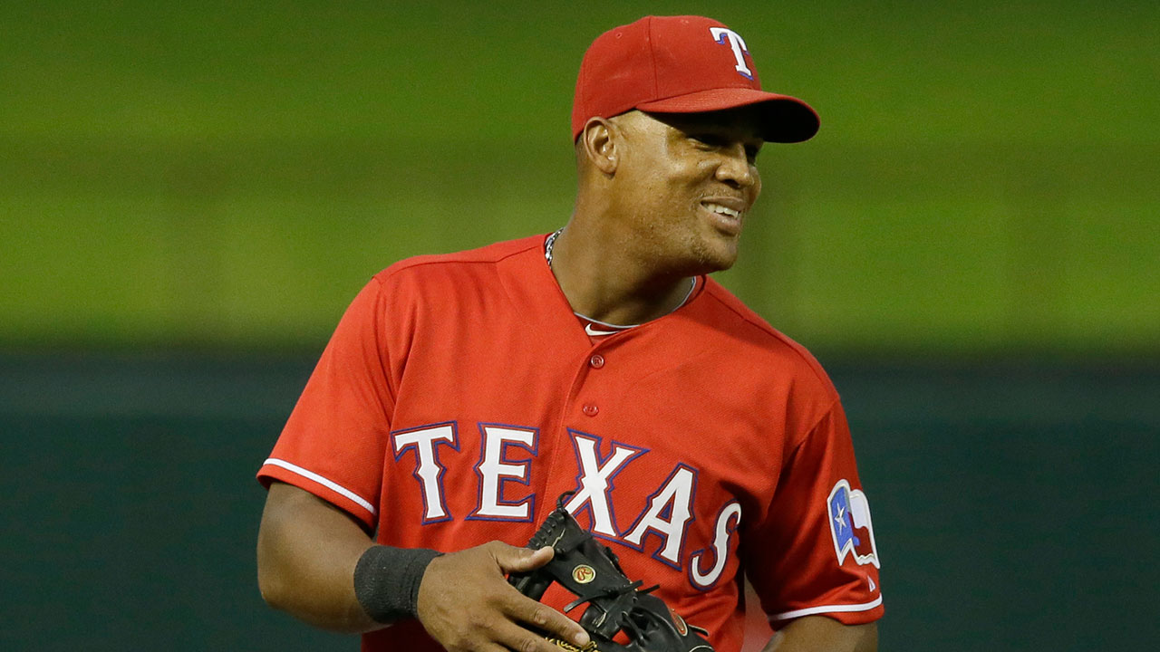 Beltre honored with Lou Gehrig Memorial Award