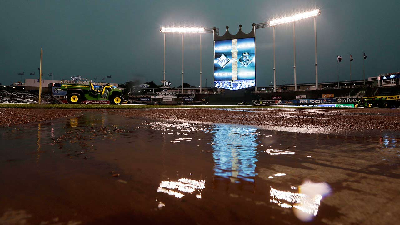 Rays rained out in KC, will play doubleheader