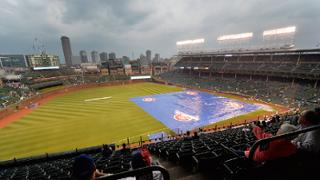 Rain delays Mariners-Cubs game in 7th
