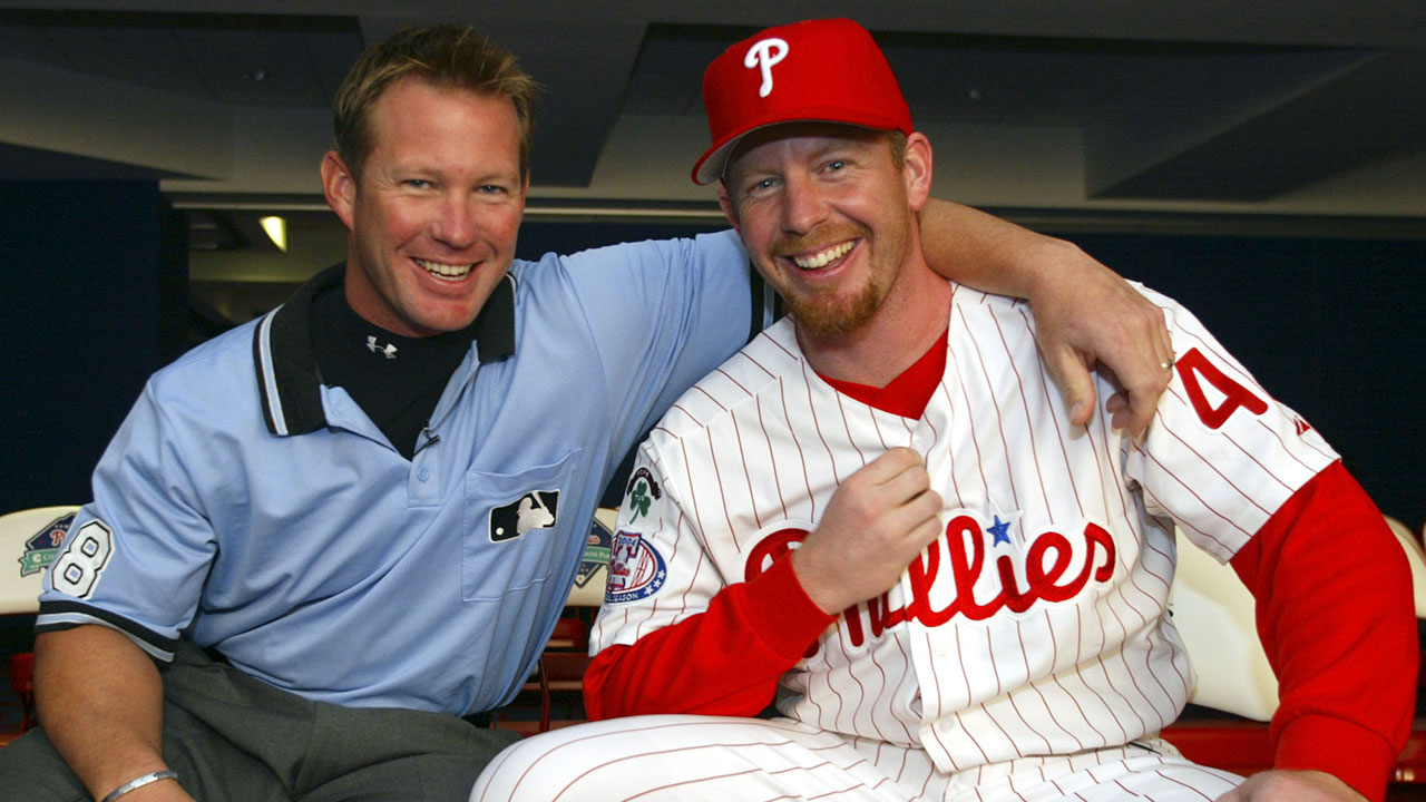 Wolf has fond memories of time with Phillies