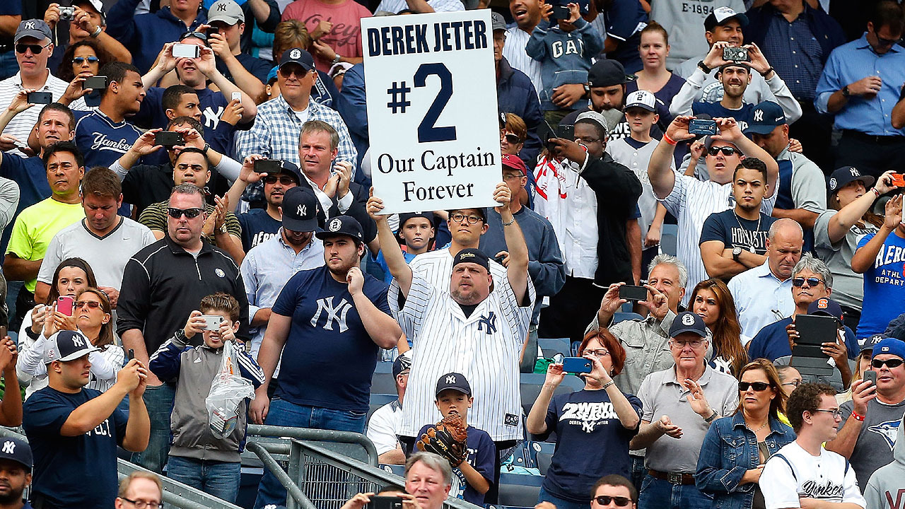 Second to none: Jeter makes No. 2 iconic