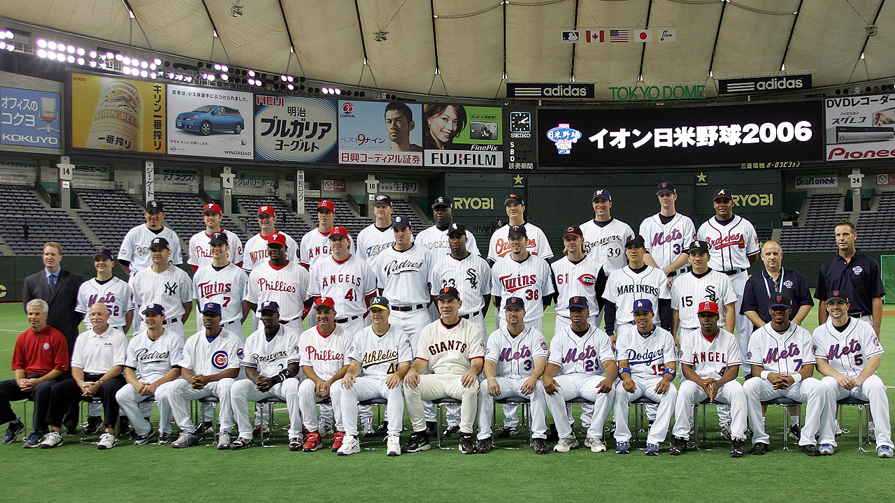 MLB stars to return to Japan for series in November