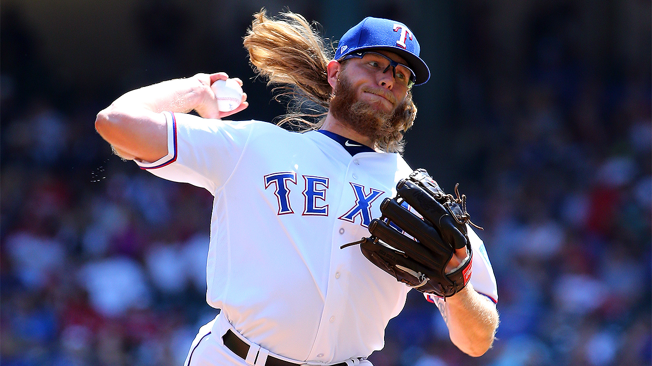 Griffin impressing Rangers out of bullpen